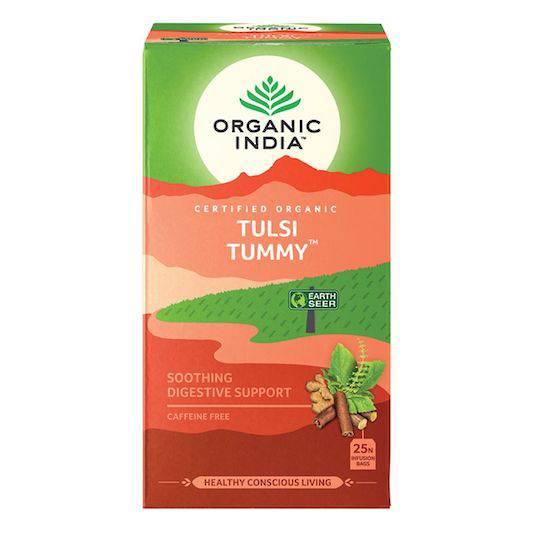 Organic India Tulsi Tummy, 25 tea bags