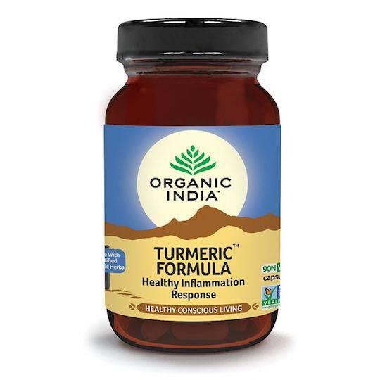 Organic India Turmeric Formula, 90 Capsules