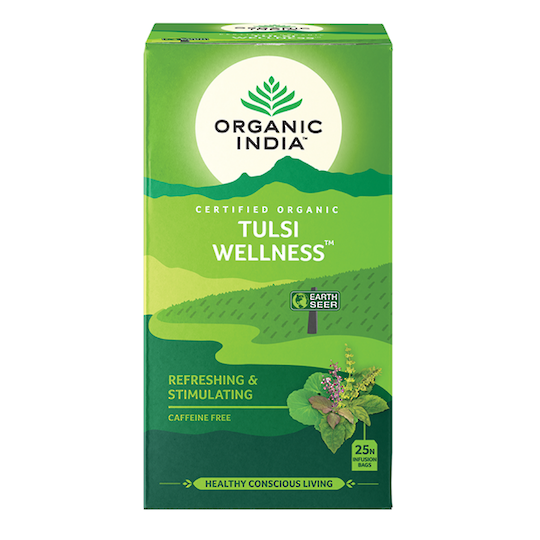 Organic India Tulsi Wellness Tea, 25 tea bags