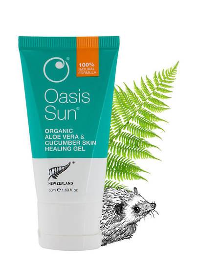 Oasis Beauty Sun Aloe Vera & Cucumber Skin Healing Gel, 50ml