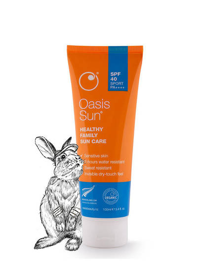 Oasis Sun SPF 40 Dry-Feel Sport Sunscreen, 100ml