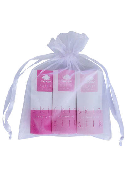Purity Fragrances Skin Silk Trial Pack, 3 x 5ml