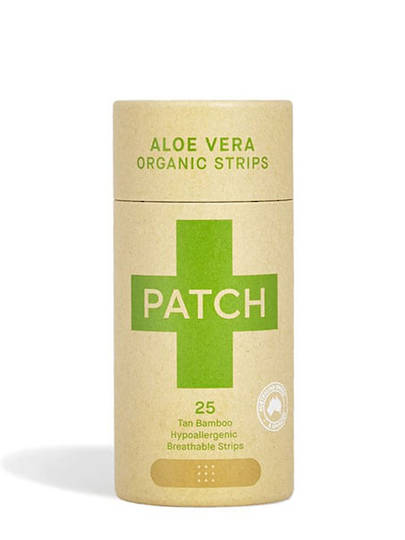 Patch Aloe Vera Bamboo Plaster Strips, 25 tube