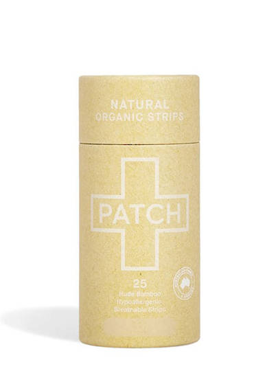 Patch Natural Bamboo Plaster Strips, 25 tube