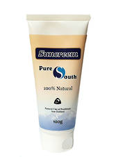 Pure South Natural Sunscreem 15+ (100g)