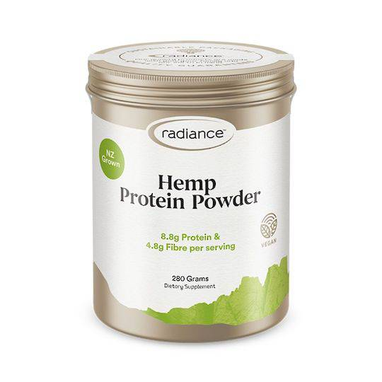 Radiance Hemp Protein Powder, 280g (best before 05/21)