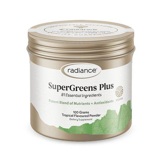Radiance SuperGreens Plus, 100g