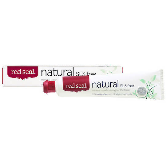 Red Seal Natural SLS free Toothpaste, 110 grams