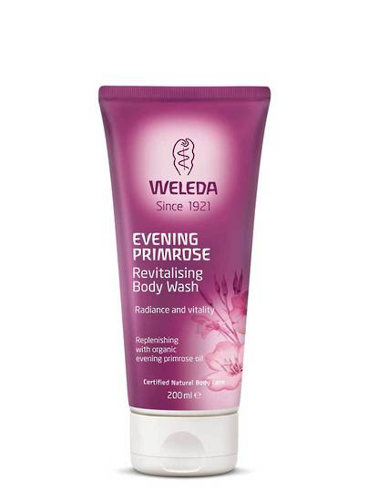 Weleda Evening Primrose Body Wash, 200ml (best before end 07/20)