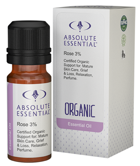 Absolute Essential Rose 3% in Jojoba (Organic), 10ml