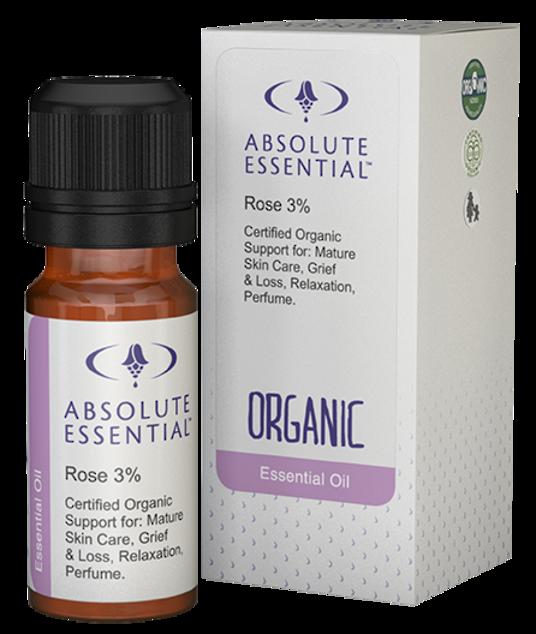 Absolute Essential Organic Rose in jojoba 3%, 10ml