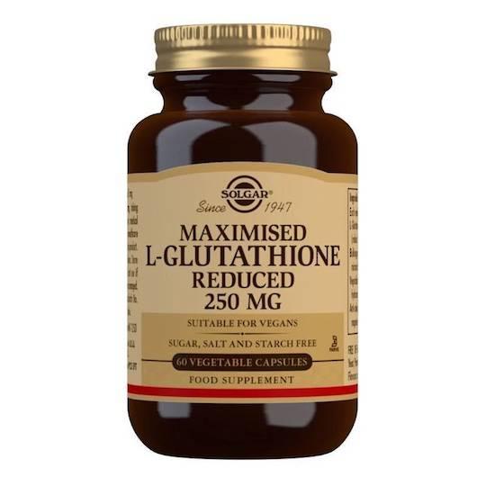 Solgar L-Glutathione 250mg (60 Capsules)