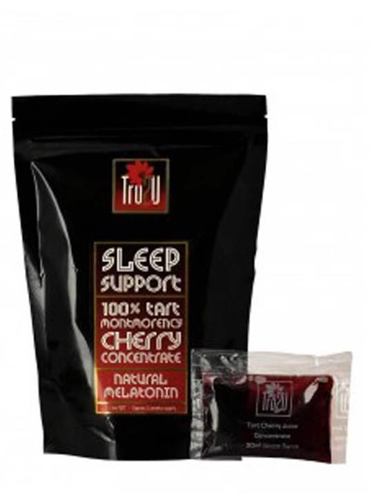 Tru2U Sleep Support Tart Cherry Concentrate - 14 x 30ml Individual Sachets