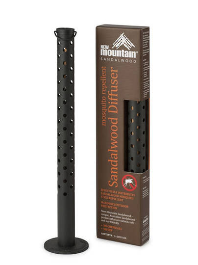 New Mountain Sandalwood Diffuser Stick (3hr) Mosquito Repellent (Refills-Sandalwood)