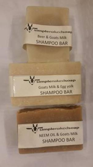 SNS Shampoo Bars, 100g oblong bar (with bag or without)