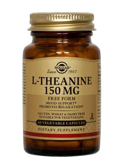 Solgar L-Theanine 150mg, 60 Capsules
