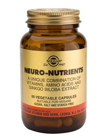 Solgar Neuro-Nutrients (60 Capsules)