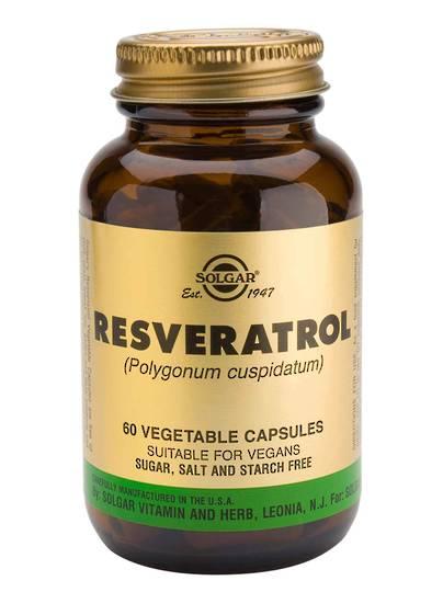 Solgar Resveratrol 100mg (60 Capsules)