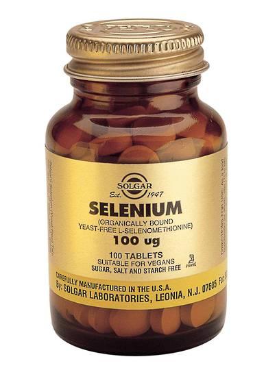 Solgar Selenium 100mcg (100 Tablets)