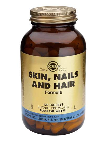 Solgar Skin, Nails and Hair Tablets, Tablets 60 & 120