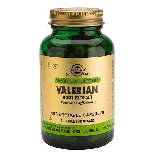 Solgar Valerian Root Extract (60 Vegetable Capsules)