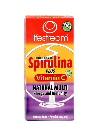 Lifestream Spirulina plus Vitamin C, Powder 100g