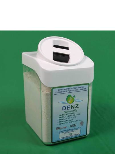 Diatomaceous Earth Storage Container