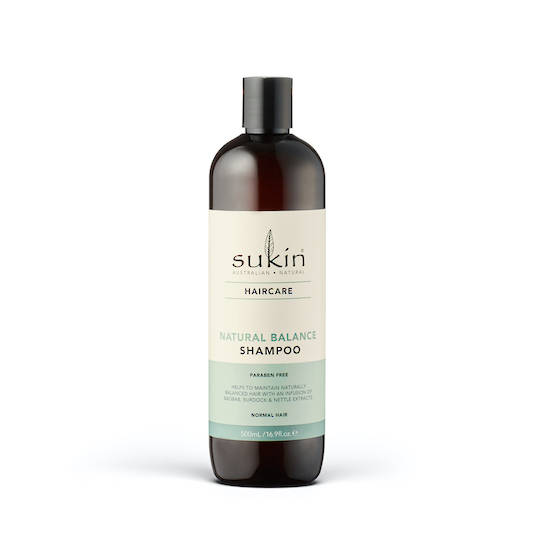 Sukin Natural Balance Shampoo, 500ml