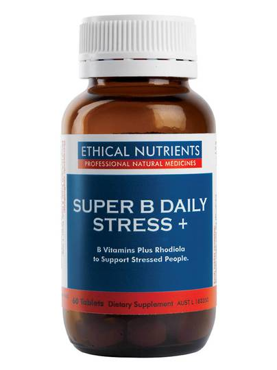 Ethical Nutrients Super B Daily Stress, 60 Tablets (BB End Dec 2020)