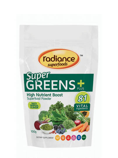 Radiance SuperGreens Plus, 100g Out of Stock