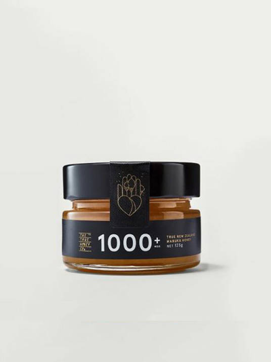 The True Honey Co. 1000+ MGO, 250g
