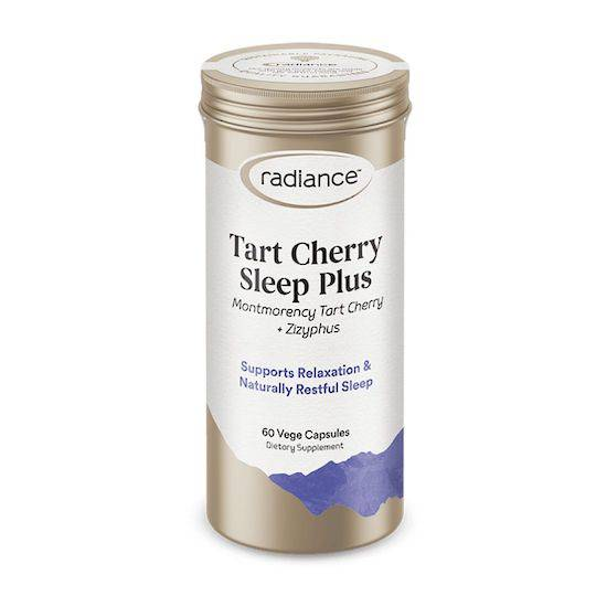 Radiance Tart Cherry Sleep Plus, 60 caps