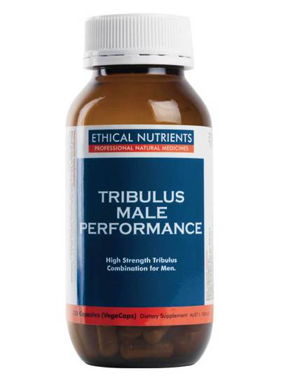 Ethical Nutrients Tribulus Male Performance, 120 Capsules (best before July 21)