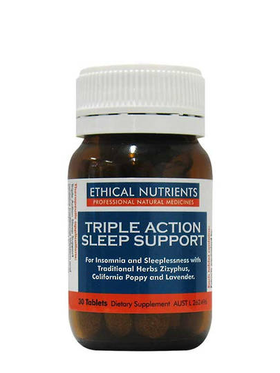 Ethical Nutrients Triple Action Sleep Support, 30 Tablets