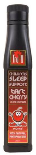 Tru2U Children's Sleep Support Tart Cherry Juice Concentrate 250ml