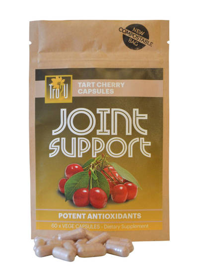 Tru2u Joint Support Pure Tart Cherry Capsules, 60 caps