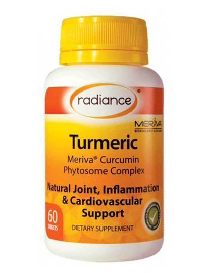Radiance Turmeric Meriva, 60 tablets