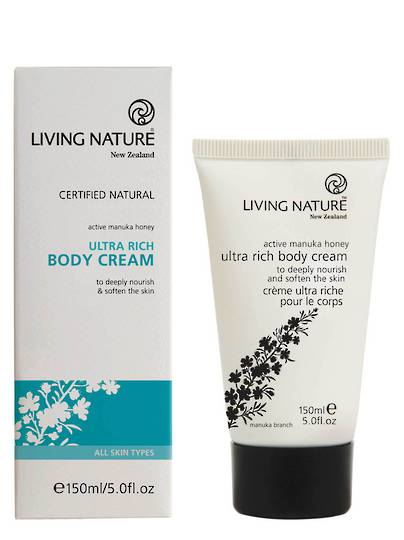 Living Nature Ultra Rich Body Cream, 150ml