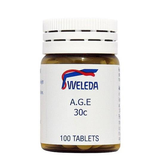 Weleda A.G.E 30c, 100 tablets or 30ml drops