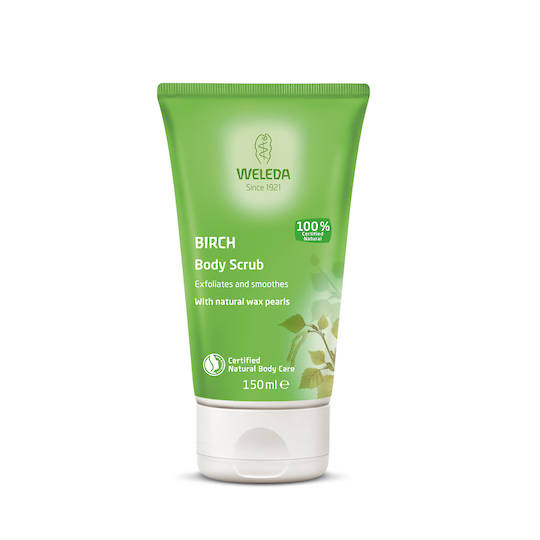 Weleda Birch Body Scrub, 150ml (best before 07/21)