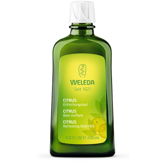 Weleda Citrus Refreshing Bath Milk, 200ml (best before end 06/21)