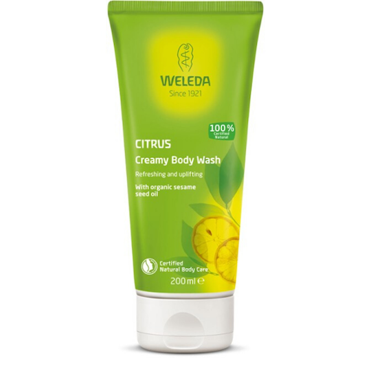 Weleda Citrus Creamy Body Wash, 200ml