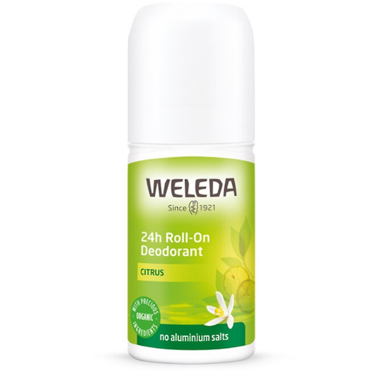 Weleda Citrus 24h Roll-On Deodorant, 50ml