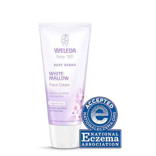 Weleda White Mallow Baby Derma Face Cream, 50ml