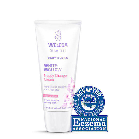 Weleda White Mallow Baby Derma Nappy Change Cream, 50ml (best before end 02/21)