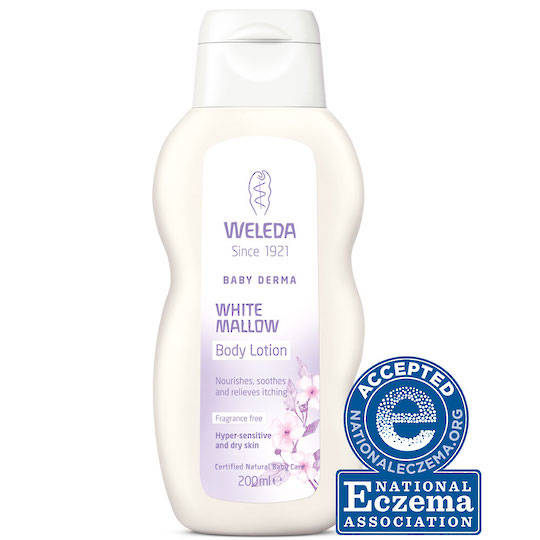 Weleda White Mallow Baby Derma Body Lotion, 200ml