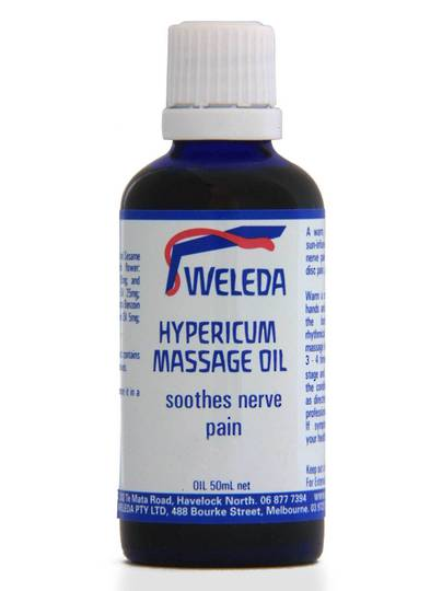 Weleda Hypericum Massage Oil, 50ml