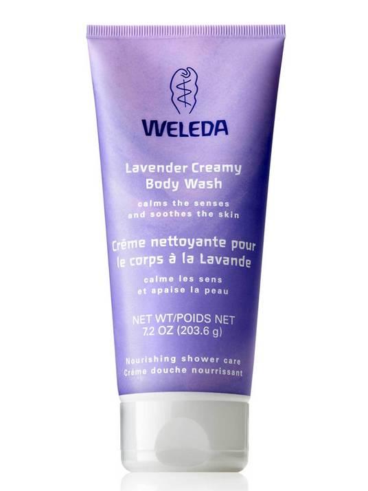 Weleda Lavender Creamy Body Wash, 200ml