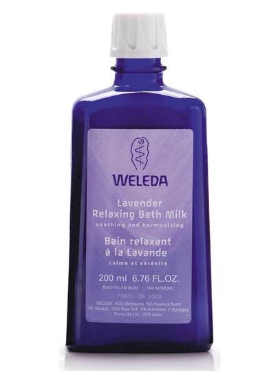 Weleda Lavender Relaxing Bath Milk, 200ml