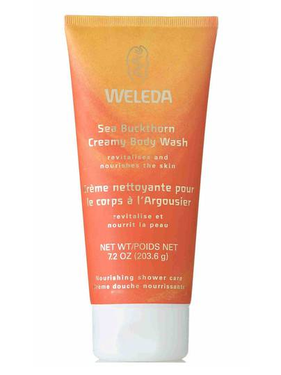 Weleda Sea Buckthorn Creamy Body Wash, 200ml